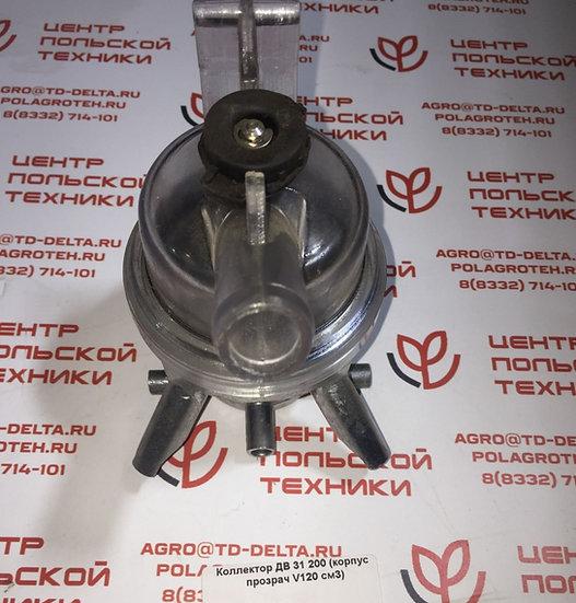 Коллектор ДВ 31, 200А для доильного аппарата