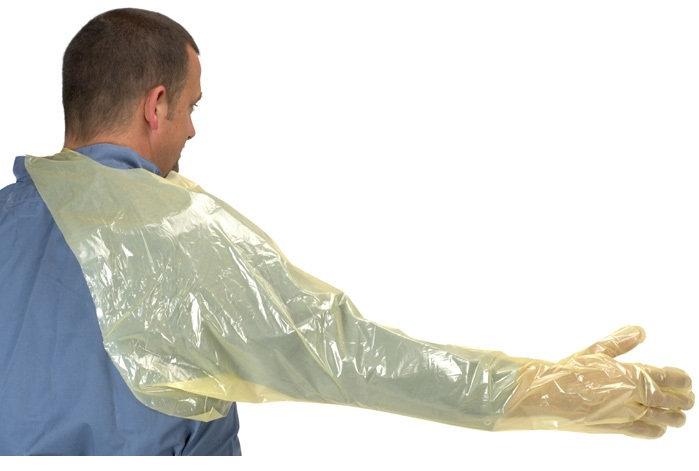 Перчатки одноразовые для искусственного осеменения