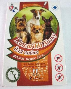Капли на холку КИСКА для собак