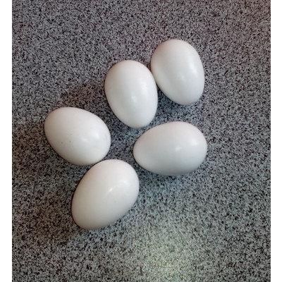 Яйцо для голубей (муляж) подкладное