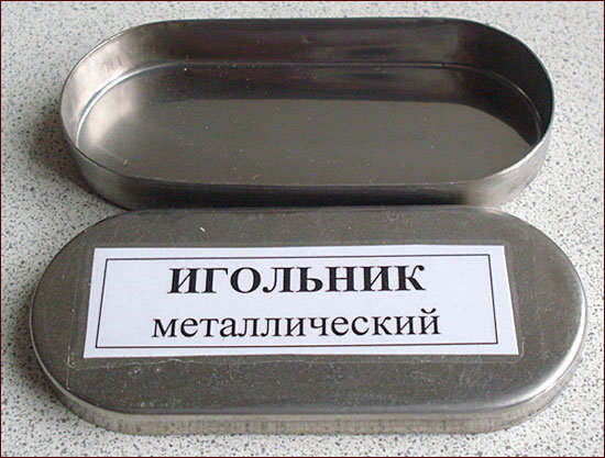 Игольник металлический