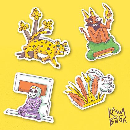 Sticker Pack «Nahua»