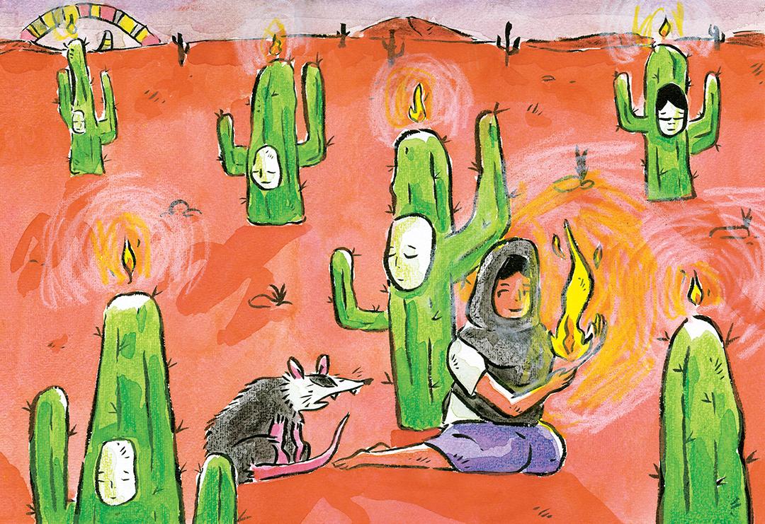 La ladrona del fuego 4