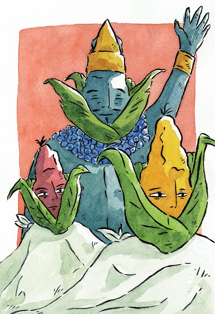 Los hombres del maíz