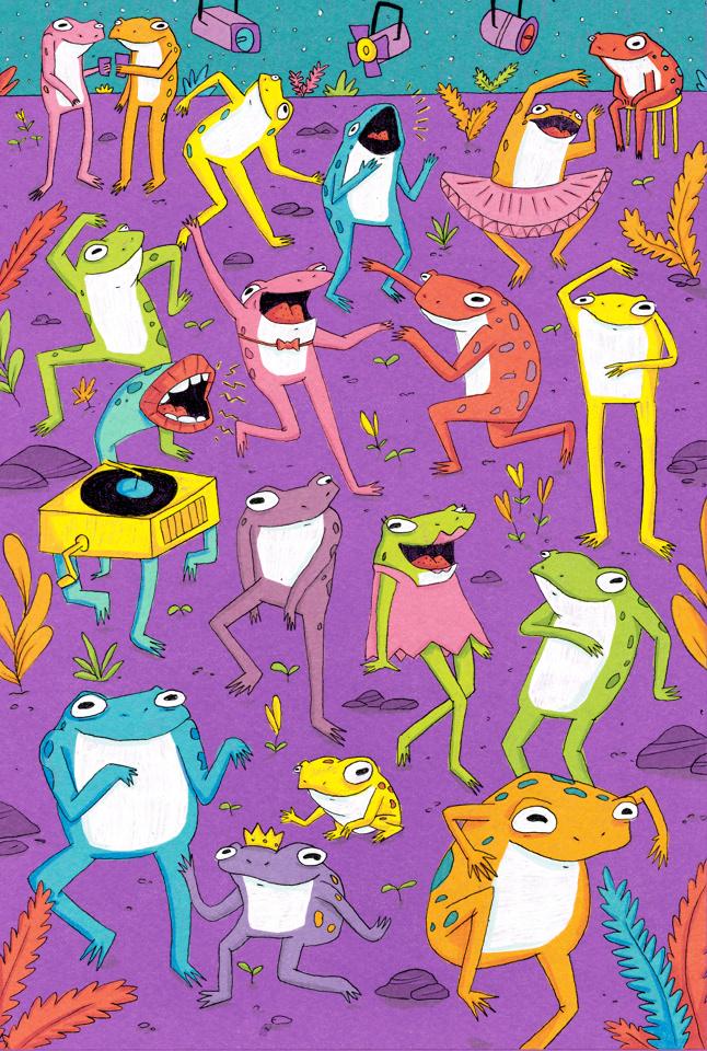La fiesta de las ranas