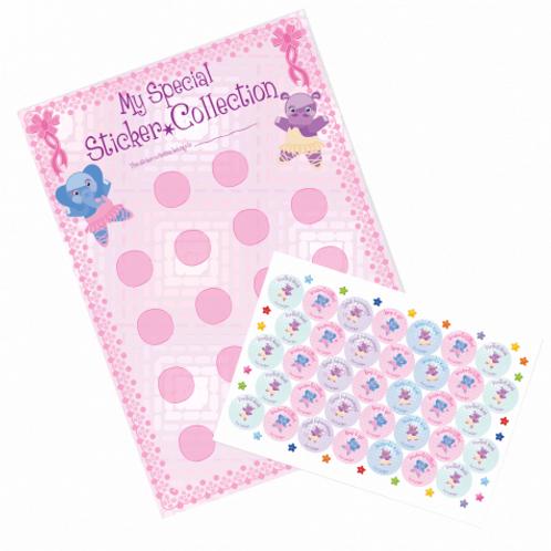 Pre-School Sticker Chart