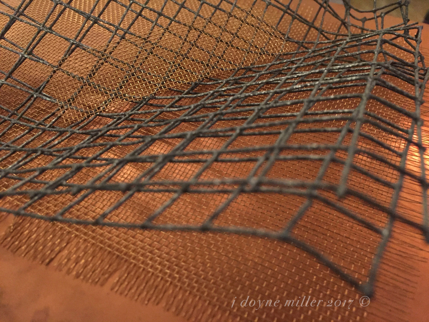 Mesh and Copper Series 1-3