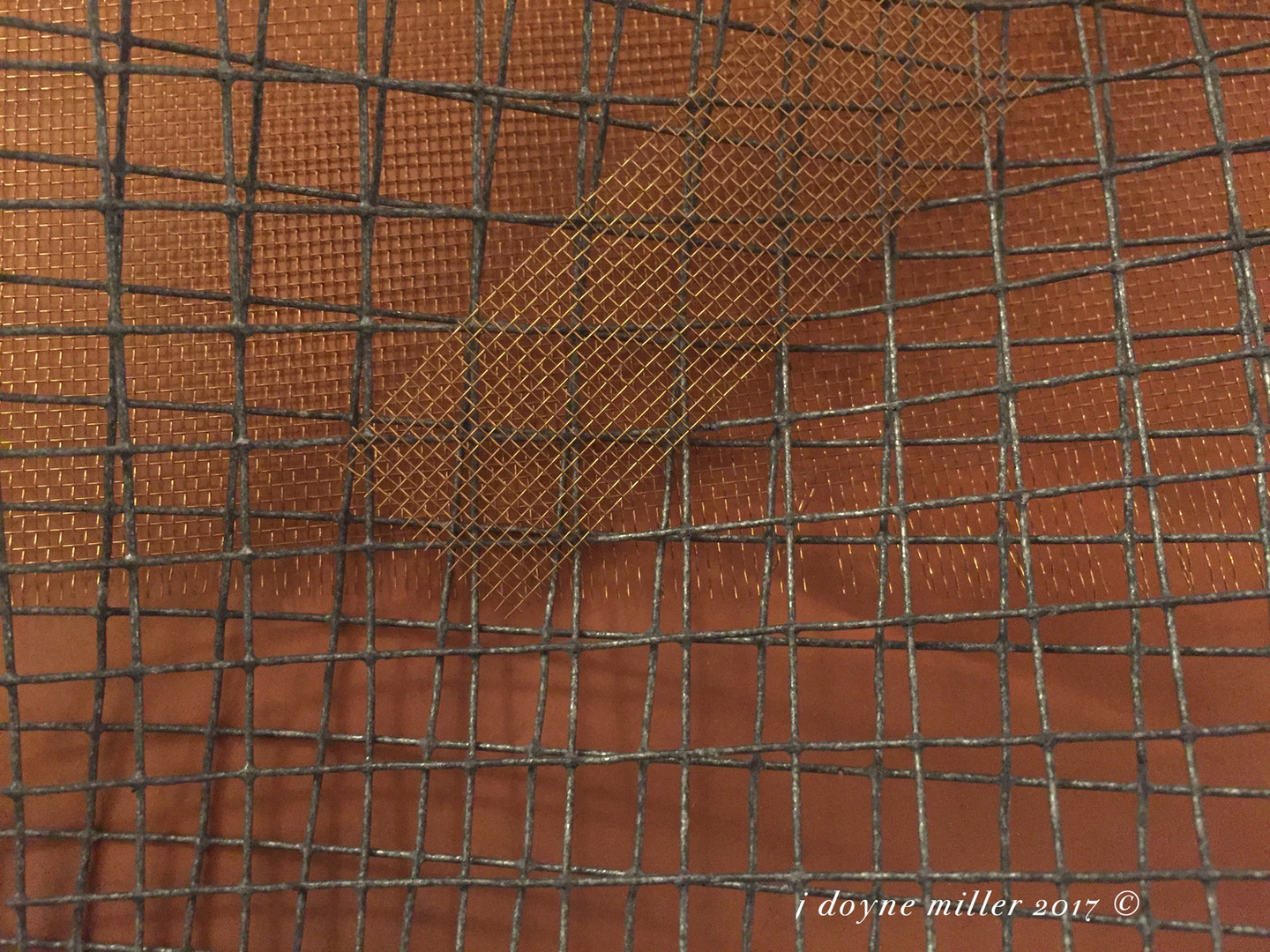 Mesh and Copper Series 1-6