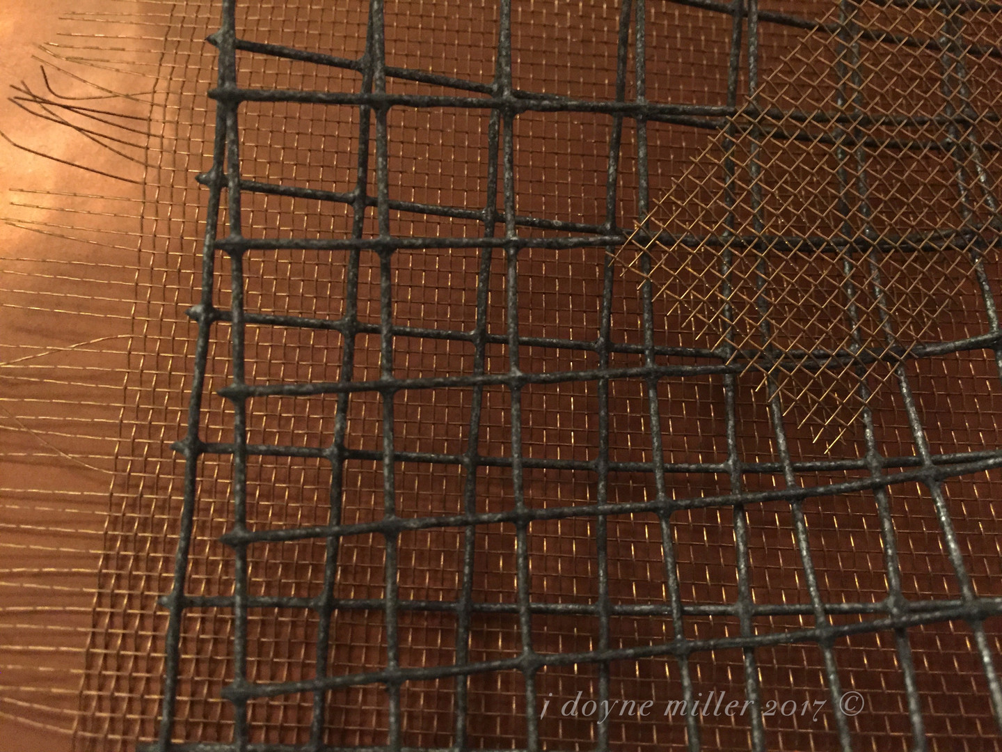Mesh and Copper Series 1-1