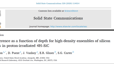 New paper out in Solid State Communications