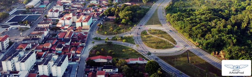 Através de Imagens Aéreas é possível valorizar imóveis, acessos e informações utéis de cada bairro.