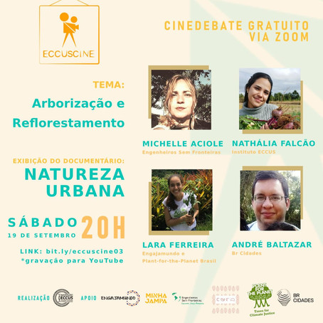 Cinedebate Natureza Urbana