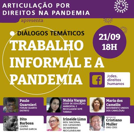 Articulação por Direitos na Pandemia   Diálogos Temáticos