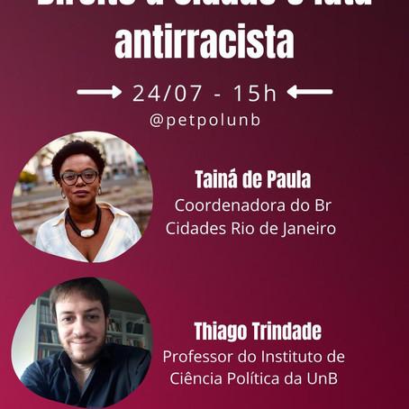 Debate PetPol | Direito à cidade e luta antirracista