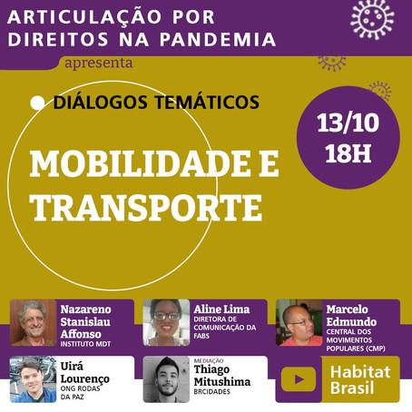 Articulação Por Direitos Na Pandemia | Mobilidade e Transporte