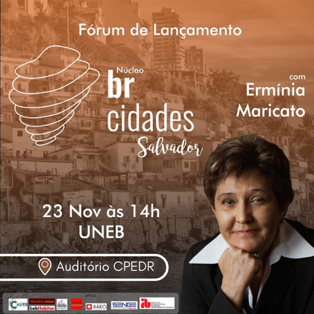 Fórum de Lançamento do Núcleo Salvador-BA