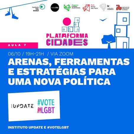 Plataforma Cidades   ARENAS, FERRAMENTAS E ESTRATÉGIAS PARA UMA NOVA POLÍTICA