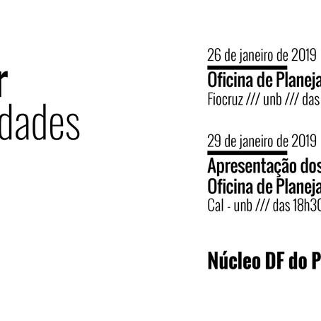 Agenda de Janeiro do NÚCLEO DF