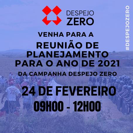 Despejo Zero | Reunião de Planejamento para o ano de 2021