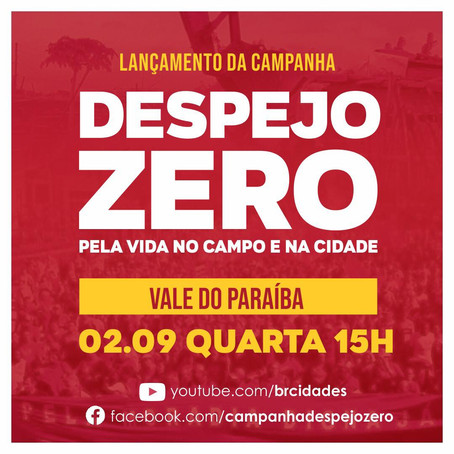 Despejo Zero | Lançamento Vale do Paraíba