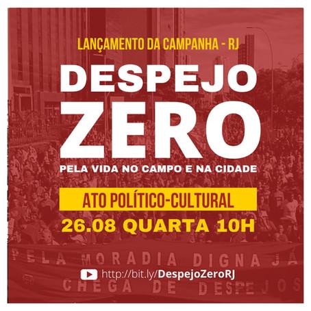 Despejo Zero | Ato político cultural RJ