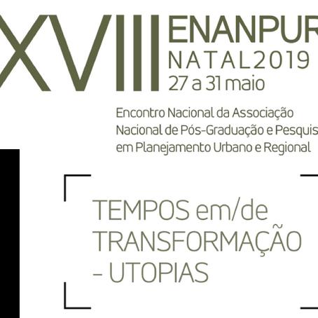 SESSÃO LIVRE APROVADA NO XVIII ENANPUR