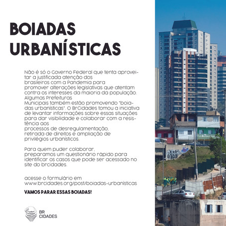 Boiadas Urbanísticas