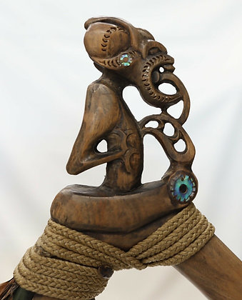 Maori Toki Poutangata Pounamu Adze