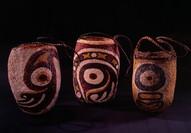 Woven painted bags Gogodala Papua New Guinea | Kiwa Art  | Parnell, Auckland