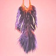 Cassowary feather bilum Papua new guinea | Kiwa Art  | Parnell, Auckland