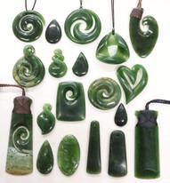 Greenstone Pounama Necklace | Specialists in Maori wood carving and Pounamu New Zealand Greenstone | Kiwa Art  | Parnell, Auckland