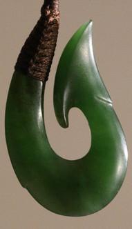 Hei matau by Neil Brown | Specialists in Maori wood carving and Pounamu New Zealand Greenstone | Kiwa Art  | Parnell, Auckland