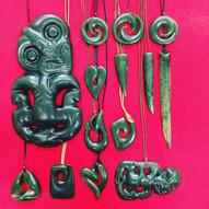 Assorted Pounamu | Kiwa Art  | Parnell, Auckland