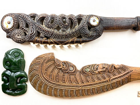 Specialists in Maori Wood Carvings