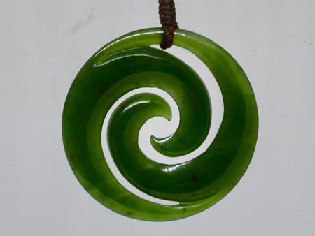 Pounamu / Greenstone in at Kiwa Art
