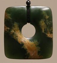Greenstone Pounamu Necklace | Specialists in Maori wood carving and Pounamu New Zealand Greenstone | Kiwa Art  | Parnell, Auckland