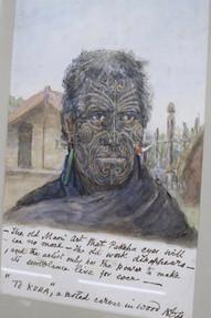 Original HG Robley watercolour| Kiwa Art  | Parnell, Auckland