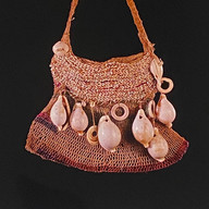 Beaded string bag bilum Papua New Guinea | Kiwa Art  | Parnell, Auckland