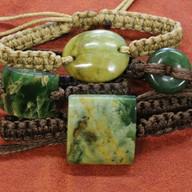 Pounamu bracelets by Andrew Pendergrast | Specialists in Maori wood carving and Pounamu New Zealand Greenstone | Kiwa Art  | Parnell, Auckland