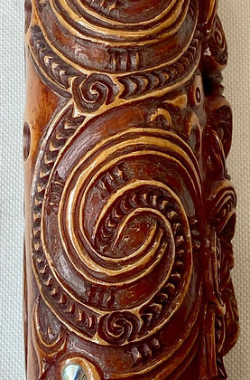 Maori flute KOAUAU #2