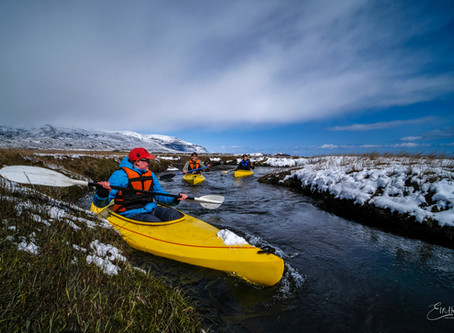 Kajak ævintýri / Kayak Adventure