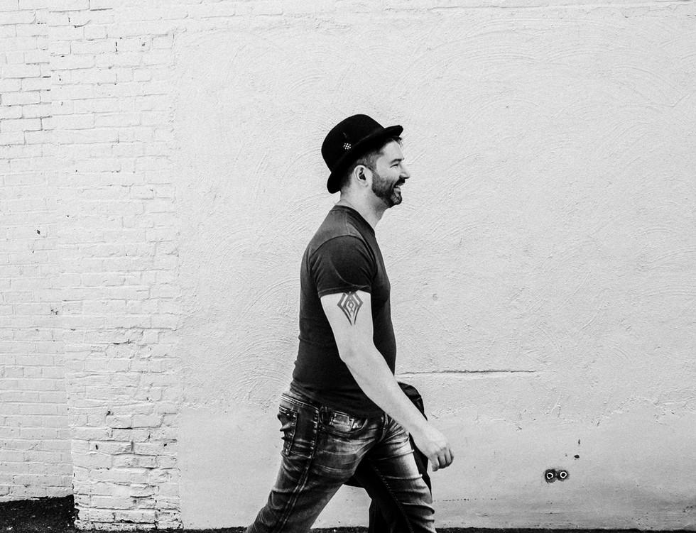 Dan Cahill walking - DC Wolves