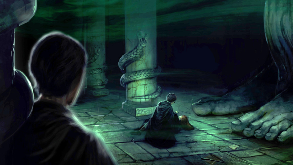 """Aparecium"" - Harry Potter Revealed in the Chamber of Secrets"