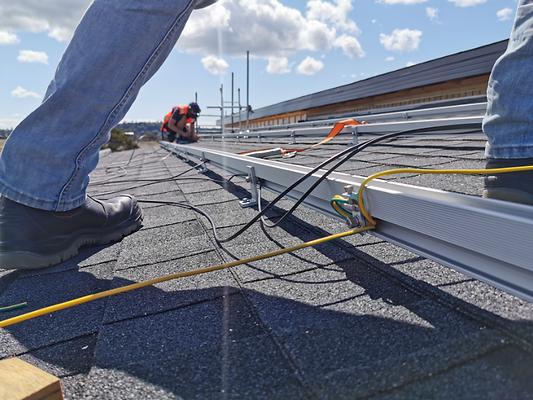 solar panels solar conduit solar installation solar power solar battery triangle solar gre