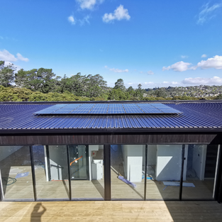 Residential solar with twin battery storage