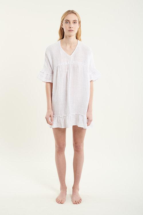 QUARTZ linen dress