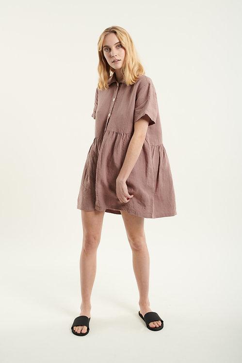 MOON linen dress