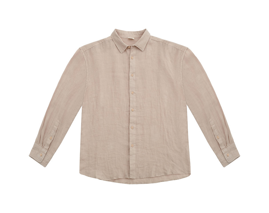 ORION linen shirt - sand