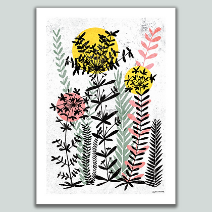 Wild Meadow A4 print
