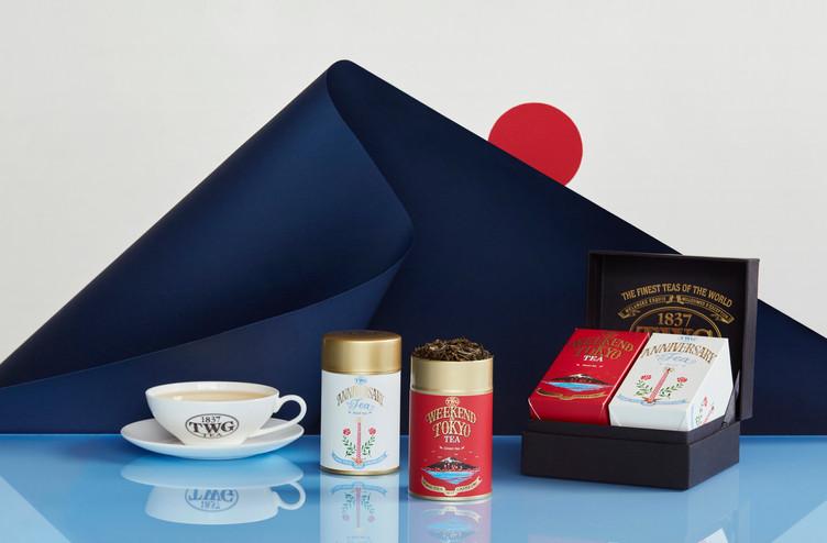 日本上陸10周年記念          CELEBRATION TEA SET発売